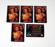 Lot of (5) 1996 Cornerstone Hammer Horror Series 2 Promo Card (P4) Nm/Mt