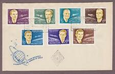 Hungary Airmail # C221 - C227 , First 7 Space Astronauts FDC - I Combine S/H