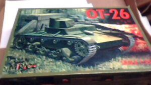 OT-26 tank skala 1/35th scale  nib kit