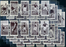 More details for churchman's cigarette card set - association footballers 1938 - stanley matthews