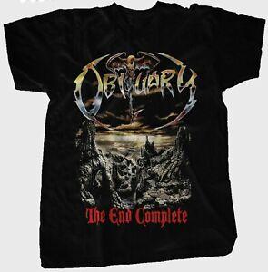 Obituary - The End Complete / T-Shirt / Gr.L / NEU / Official Merch. /