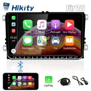 "Android 10 For VW Golf MK5 MK6 Jetta RCD330 9"" Car GPS WiFi CarPlay Radio+Camera"