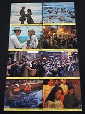 THE HAWAIIANS 1970 * CHARLTON HESTON * MINI LOBBY CARD SET * NEAR MINT UNUSED!!