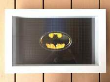 LEGO 71017 BATMAN MINIFIGUES FRAME DISPLAY CASE BOARD PLATE 30x47x8CM BLACK NEW