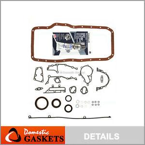 Lower Gasket Set Fit 82-88 Toyota Cressida Supra 2.8 DOHC 5MGE