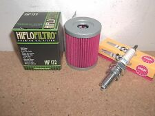 Tune up Kit Suzuki Ozark 250 LT-F250 Oil Filter Spark Plug 2002 2003 2004-2014