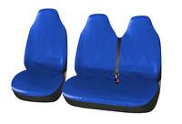 2+1 Sitzbezug Kunstleder Blau Auto Sitzbezüge Schonbezüge Neu für Citroen Fiat