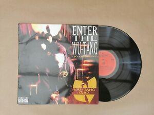 WU-TANG CLAN - ENTER THE WU TANG  ( LP Vinyl)