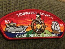 Mint CSP Tidewater Council SA-42 Camp Pipsico 1958-2008