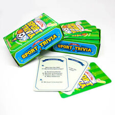 Sports Trivia Quiz Cards Game Test Party After Dinner Game Sport Stocking Filler