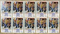 Magic Johnson 1990 Fleer #93 Los Angeles Lakers 10ct Card Lot