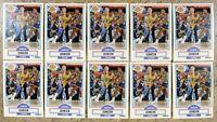 Magic Johnson 1990 Fleer #93 Los Angeles Lakers 10ct Card Lot