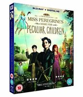 Miss Peregrine's Home For Peculiar Children [Blu-ray] [2016] [DVD][Region 2]