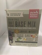 The Honest Kitchen 7lb Dehydrated Grain Free Fruit/Veggie Base Mix EXP 01/29/21