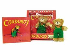 Corduroy Book (hc) & Plush Corduroy Bear  Don Freeman NEW