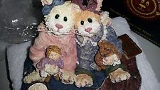 Boyd's Bears Retired Catarina & Sassy Purfect Friends Cat Figurine #371011 New