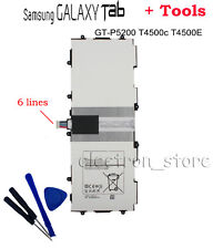 """High Qulity Battery For Samsung Note Tablet Tab 3 10.1""""P5200 P5210 P5213 T4500E"""