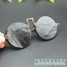 China antique collection brass crystal sunglasses Movie props cos