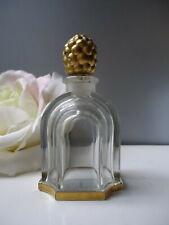 JEAN PATOU AMOUR AMOUR Baccarat Signed Vintage 1930s Parfum Bottle Empty Nr Mint