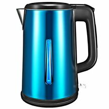 1.8L Stainless Electric Glass Kettle Hot Water Fast Boiling Tea Pot W/ LED Light