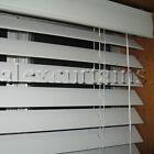 Ecowood Venetian Blinds, Size: 105x137cm, 50mm Slat, Colour: White
