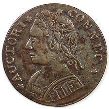 1788 Connecticut 12.1-F.1 R5 Colonial Copper Coin