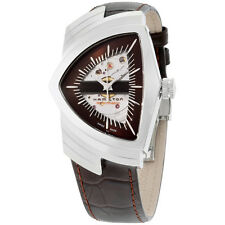 Hamilton Ventura Brown Dial Skeleton Dial Men's Watch - H24515591
