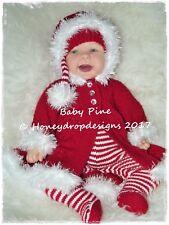 BABY PINE * CHRISTMAS * PAPER KNITTING PATTERN * Reborn/Baby Honeydropdesigns