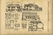 1902 Village Parochial Clubhouse Design Primus