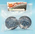 Vintage TRC 1831 Black Stock Car Mounted Front Tires 1/10 RC Pan Car RC10 Bolink