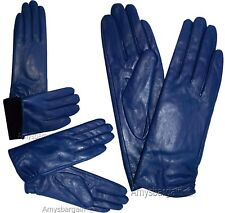 Leather gloves. Woman's Size M. Leather winter Gloves. Dress Gloves. New Gloves