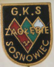 GKS ZAGKEBIE SOSNOWIEC Vintage Club crest type badge Stick pin 12mm x 14mm