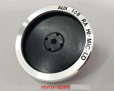 REVOX A77  BOTON  AUX - I-II RA HI.MIC.LOC  -    TOP GOOD