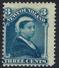 NEWFOUNDLAND 1896 QV 3C BLUE
