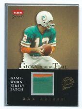 "2004 Fleer ""Greats"" Bob Griese #GT-BG Miami Dolphins Football Card JK7."