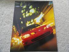 2000 Ford Escort ZX2 Sales Brochure