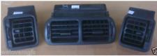 MGF MG TF MGTF  Set of Black Dash Air Vents  VGC