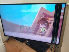 "Samsung UE43TU7100K 43"" 4K LED Smart TV - Carbon Silver broken screen."