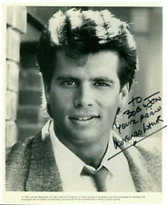 Lorenzo Lamas (Vintage, Inscribed) signed photo COA