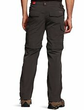 Craghoppers Nosilife Convertible Pantalones para Hombre Piedra o Negro Pimienta