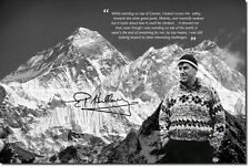 SIR EDMUND HILLARY PHOTO PRINT MOUNT EVEREST CLIMBING POSTER GIFT