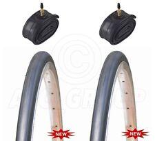 2 pneus de vélo - Route / - 700 X 23C - Avec Chambre à air Presta