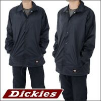 dickies Jacket Snap Front Coaches Jacket Lined Windbreaker Style # 76242