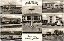 Bad Füssing Mehrbildkarte 1961 Kurheim Claudia Hotel Holzapfel Füssinger Hof u.a