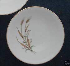 Nasco China Golden Harvest Wheat 2 coupe cereal bowls