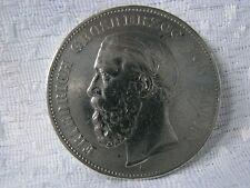 5 MARK  1876 - G FRIEDRICH GROSHERZOG VON BADEN