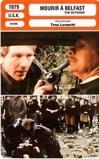 FICHE CINEMA : MOURIR A BELFAST - Wasson,Hayden,Luraschi 1979 The Outsider