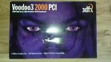 3DFX Voodoo3 2000 PCI 16MB SDRAM Graphics Card *Barely used, tested and working*