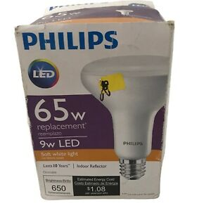 9W LED 65w Replacement Indoor Reflector Light Bulb Dimmable Soft White