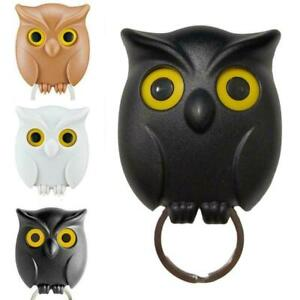 Night Owl Magnetic Wall Key Holder Magnets Keep Key Hooks Tools Chains N1H7